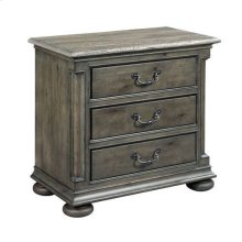 Greyson Aldine Three Drawer Nightstand