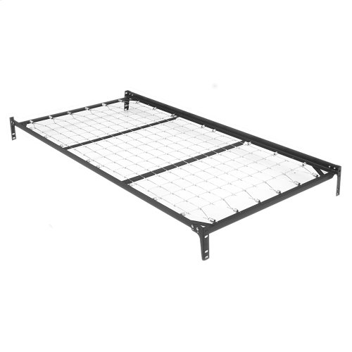 Free Standing 39-Inch Link Spring Top Spring with (2) Square Tubular Arms and Pop-Up Trundle