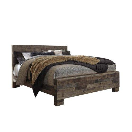 Derekson - Multi Gray 3 Piece Bed Set (King)