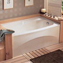 Colony 66x32 inch Integral Apron Bathtub - White