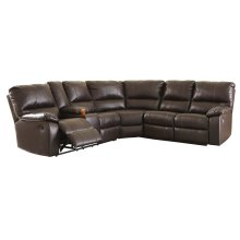Warstein - Chocolate 3 Piece Sectional