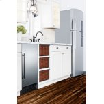 "Summit 18"" Wide Built-in All-refrigerator, ADA Compliant"