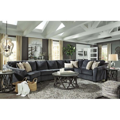 Eltmann - Slate 4 Piece Sectional
