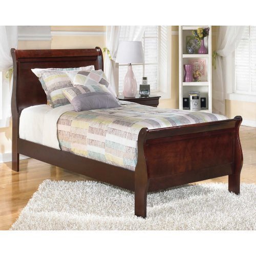 Alisdair - Dark Brown 2 Piece Bed Set (Twin)