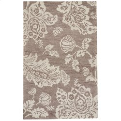 Everard Damask Stone Hand Tufted Rugs