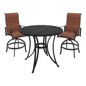 Ashley Furniture Apple Town - Burnt Orange 3 Piece Patio Set