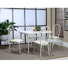 Tawny 30x48 Table 5 PC Set