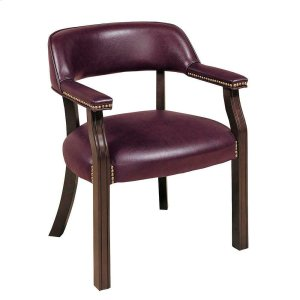 CoasterBurgundy Leatherette Office Chair