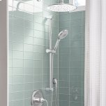 American Standard30 Inch Round Shower Slide Bar  American Standard - Polished Chrome