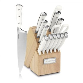 15 Piece Cutlery Set With Block