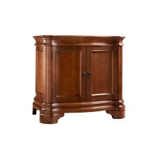 "Le Manns 36"" Bathroom Vanity Cabinet Base in Colonial Cherry"