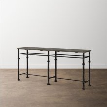 Verona Metal Console Table