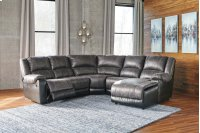 Nantahala - Slate 5 Piece Sectional Product Image