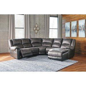 Ashley Furniture Nantahala - Slate 5 Piece Sectional