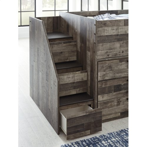 Left Storage Steps w/Loft Ends