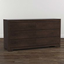 Bench*Made Oak 6 Drawer Dresser