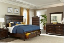 6168 Winston Court King BED COMPLETE; King HB, FB, Rails & Slats