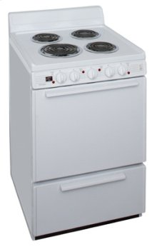 24 Inch Free Standing Electric Range