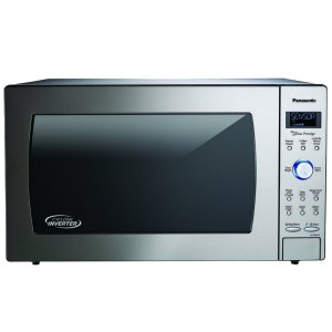 Panasonic2.2 Cu. Ft. Built-In/Countertop Cyclonic Wave Microwave Oven with Inverter Technology - Stainless Steel - NN-SD975S