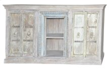 Wood 4Door Plasma Cabinet SFK