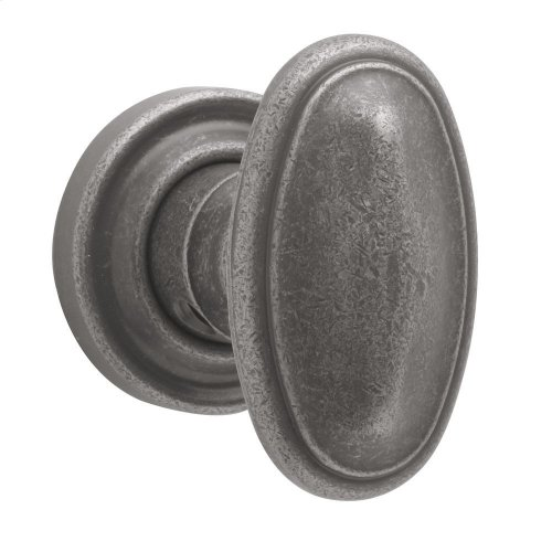 Distressed Antique Nickel 5057 Estate Knob