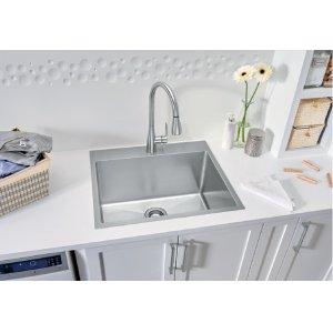 Blanco Quatrus® R15 Laundry Sink - Satin Finish