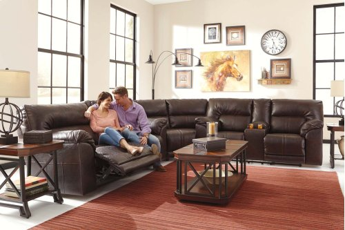 Barrettsville DuraBlend® - Chocolate 3 Piece Sectional