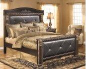 Coal Creek - Dark Brown 4 Piece Bed Set (King)