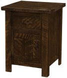 Frontier Enclosed Nightstand - Red Canyon Product Image