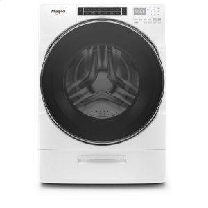 5.0 cu. ft. Front Load Washer with Load & Go XL Dispenser - WHITE
