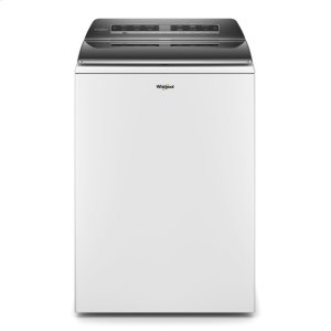 5.3 cu. ft. Smart Capable Top Load Washer - WHITE