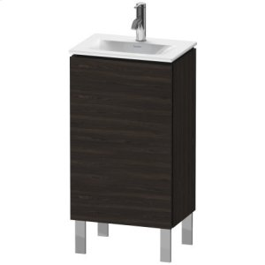 Vanity Unit Floorstanding, Brushed Walnut (real Wood Veneer)