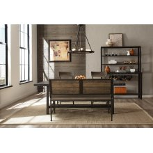 Jennings 4 Piece Dining Set With Bench