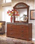 Fairbrooks Estate - Reddish Brown 2 Piece Bedroom Set Product Image