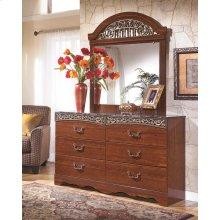Fairbrooks Estate - Reddish Brown 2 Piece Bedroom Set