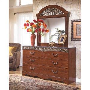 Ashley Furniture Fairbrooks Estate - Reddish Brown 2 Piece Bedroom Set