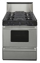 30 in. Freestanding Sealed Burner Gas Range in Stainless Steel Product Image