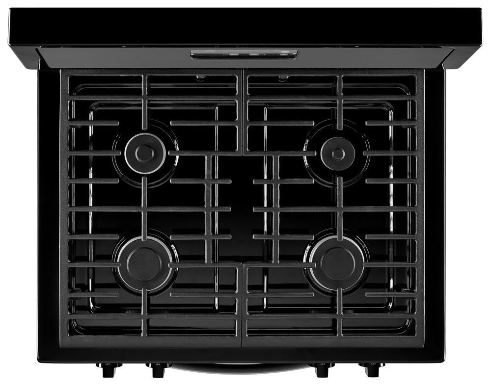 Wfg320m0bb Whirlpool 5 1 Cu Ft Freestanding Gas Range