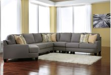 Chamberly - Alloy 5 Piece Sectional