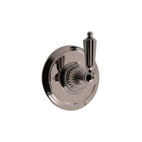 3-way Wall Mount Diverter in Satin Chrome