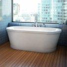 Eidel Bathtub Freestanding with integrated tiling flange Product Image