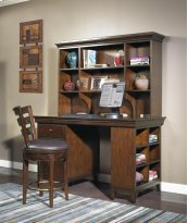 Artisan Light Office Open Hutch 59""