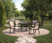 Bass Lake - Beige/Brown 2 Piece Patio Set Product Image