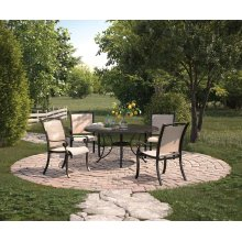 Bass Lake - Beige/Brown 2 Piece Patio Set