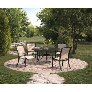 Ashley Furniture Bass Lake - Beige/brown 2 Piece Patio Set