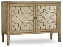 Living Room Sanctuary Two-Door Mirrored Console - Surf-Visage