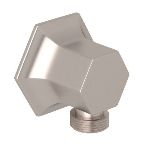 Satin Nickel Bellia Wall Outlet
