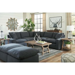 Ashley Furniture Savesto - Charcoal 2 Piece Sectional