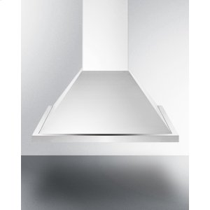 Summit24 Inch ADA Compliant European Wall-mounted Range Hood In Stainless Steel With Remote Wall Switch