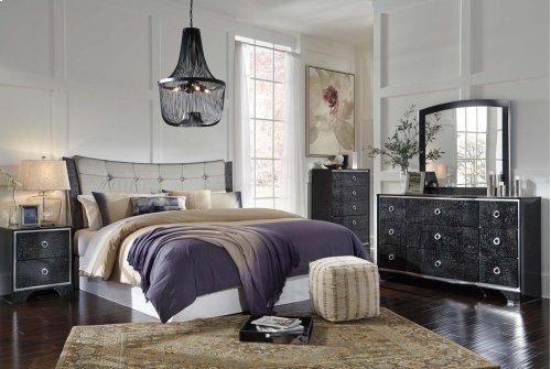 Amrothi - Black 2 Piece Bedroom Set